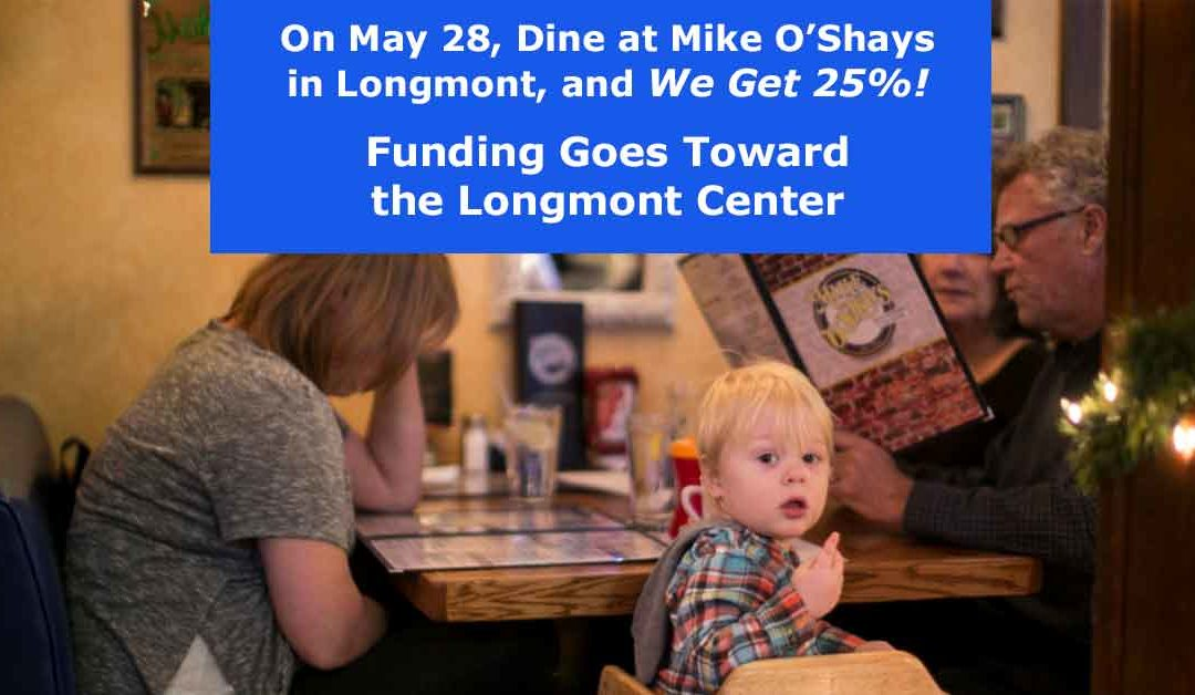 LPAI Restaurant Fundraiser: Dine at Mike O'Shays – Tuesday, May 28