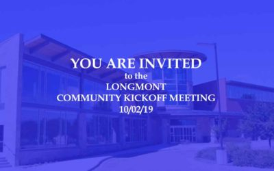 Community Kickoff Meeting for the Feasibility Study – October 2, 2019